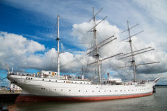 Gorch Fock sailship Fotografia Stock