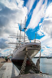 Gorch Fock sailship 库存照片