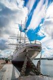 Gorch Fock sailship Stock Photos