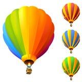 gorący lotniczy balon Zdjęcia Stock