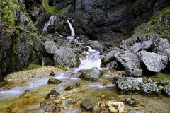Gordale Scar, Malham Royalty Free Stock Photography