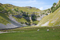Gordale Scar Royalty Free Stock Photos