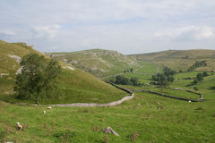 Gordale, Yorkshire. Stock Images