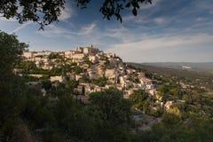 Gordes村庄,法国 库存图片