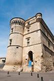 gordes замока стоковое изображение rf