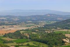 Gordes на юге  Франции, очаровательной панораме маленького города Стоковые Фотографии RF