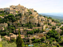 Gordes. View of the hilltop village of Gordes, Provence, France Royalty Free Stock Photos