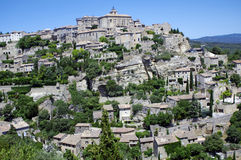 Gordes. A nice view of an ancient village in Provence,France Stock Photos