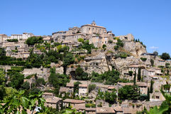 Gordes Royaltyfria Foton