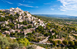 Gordes the beautiful village from provence Stock Photo