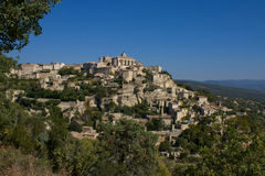 Gordes, de Provence Stock Afbeelding