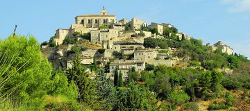 Gordes, de Provence royalty-vrije stock foto's