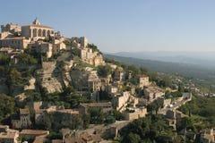 Gordes in de Provence, Frankrijk Stock Afbeelding