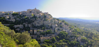 Gordes em Provence fotos de stock royalty free
