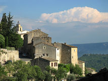 Gordes in France. Beautiful village Gordes in France Royalty Free Stock Images
