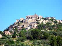 Gordes - France Stock Photo