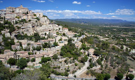 Gordes - A Hilltop Town in France Royalty Free Stock Image