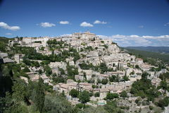 Gordes - A Hilltop Town in France Royalty Free Stock Photo