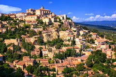 Gordes historical hilltop town, Provence, France Stock Photography