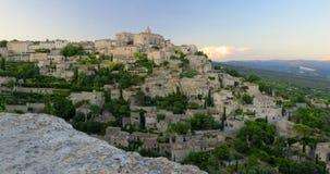 Gordes by i Provence Arkivfoto