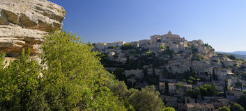 Gordes landscape Royalty Free Stock Image