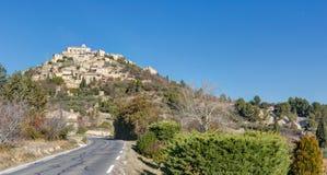 Gordes - Luberon - Provence Frankrike Arkivfoto