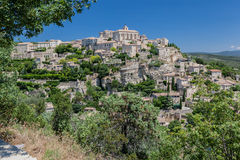 Gordes Medieval City Provence France Royalty Free Stock Images