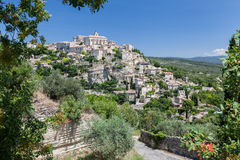 Gordes Medieval City Provence France Stock Photo
