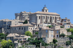Gordes Medieval City Provence France Royalty Free Stock Photo