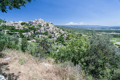 Gordes Medieval City Provence France Stock Images
