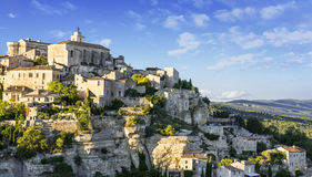 Gordes medieval village Royalty Free Stock Images