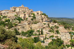 Gordes medieval village in Southern France Stock Images