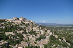 Gordes Medieval Village in Southern France, Provence Royalty Free Stock Photo
