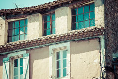 Gordes medieval village in Southern France (Provence) Stock Photography