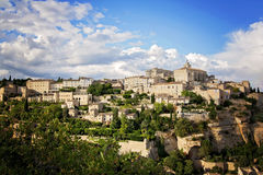 Gordes, one of the most beautiful and most visited French villag Royalty Free Stock Image