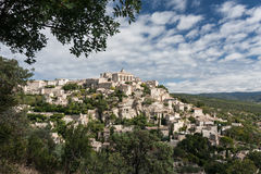 Gordes, one the most beautiful village of France. It is situated in Provence Royalty Free Stock Photography