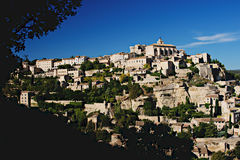 Gordes in Proivence Royalty Free Stock Photography