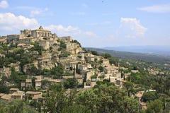 Gordes Provence, Frankrike Arkivfoton