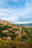 Gordes Provence Hilltop Stone Village V Stock Photos