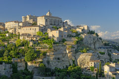 Gordes town in France Royalty Free Stock Images