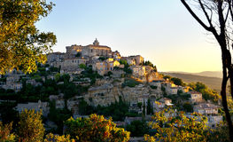 Gordes two Royalty Free Stock Photos