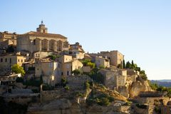 Gordes Village Royalty Free Stock Photo
