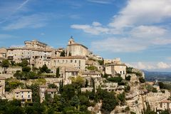 Gordes Village Royalty Free Stock Images