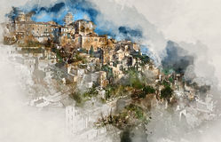 Gordes village Royalty Free Stock Photos