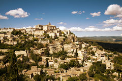 Gordes village Stock Photography