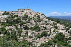 Gordes. It is village Gordes in Provence, France, May 2015 Royalty Free Stock Images