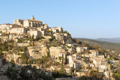 Gordes village in Provence Royalty Free Stock Photos