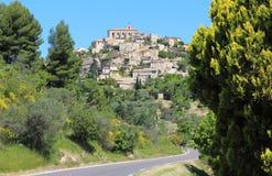 Gordes village upon a rock, France Stock Image