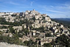 Gordes village. Southern France Royalty Free Stock Photos