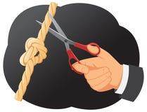 Gordian knot Stock Photo